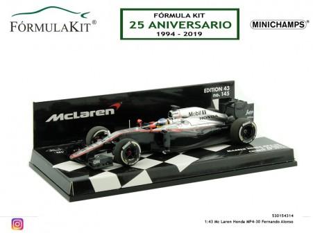 1:43 Mc Laren-Honda MP4-30 Fernando Alonso G.P. China 2015