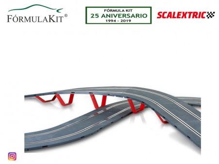 Soportes elevación puente circuito SCALEXTRIC