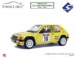 1:18 Peugeot 205 Rallye Gr.A PTS Doelen Tour de Corse 1990