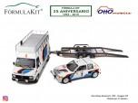 1:18 Pack Peugeot 205 Rallye Montecarlo 1985