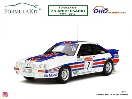 1:18 Opel Manta Gr. B Rallye San Remo