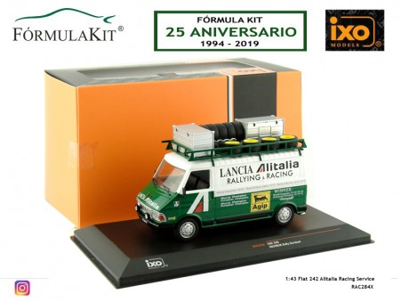 1:43 Fiat 242 Alitalia Racing Service