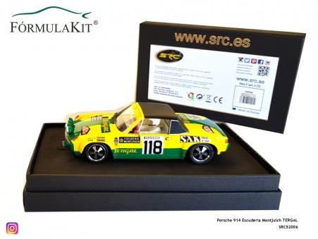 Porsche 914 Escudería Montjuich TERGAL