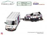 1:18 Pack Lancia Delta Rallye Montecarlo 1986