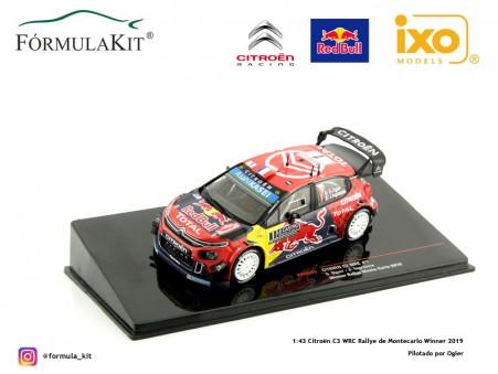Citroën C3 WRC Rallye de Montecarlo Winner 2019