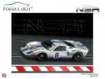Ford GT40 MKI Martini Racing Silver