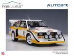 1:18 Audi Quattro S1 Rallye Monte Carlo 1986 Mikkola