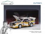 1:18 Audi Quattro S1 Rally Monte Carlo 1986 W. Röhrl