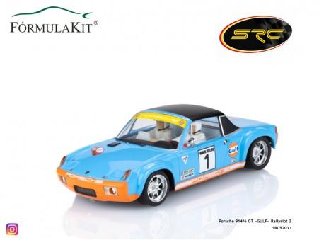 Porsche 914/6 GT «GULF» Rallyslot 2
