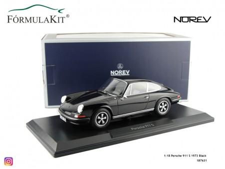 1:18 Porsche 911 S 1973 Black