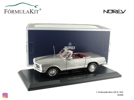1:18 Mercedes Benz 230 SL 1963