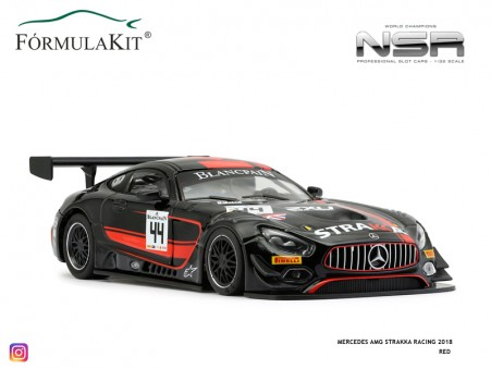 Mercedes-AMG Strakka Racing 2018 Red