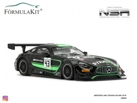 Mercedes-AMG Strakka Racing 2018 Green