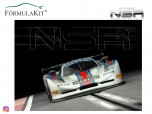 Mosler MT900 R Martini Racing Silver