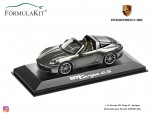 1:43 Porsche 992 Targa 4S - Darkgrey