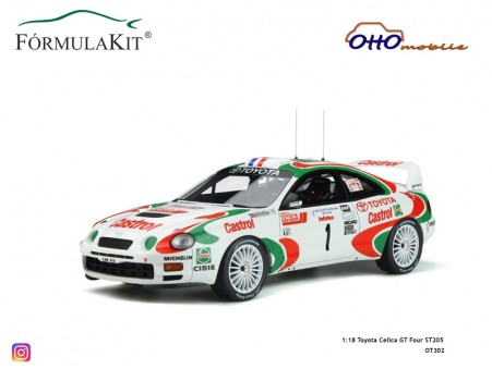 1:18 Toyota Celica GT Four ST205