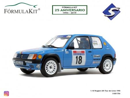 1:18 Peugeot 205 Tour de Corse 1990