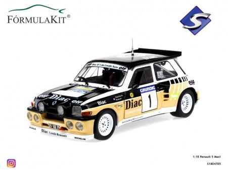 1:18 Renault 5 Maxi Rallye Du Var 1986