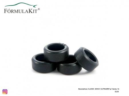 Neumáticos CLASSIC 20X8.5 ULTRAGRIP p/ llanta 16