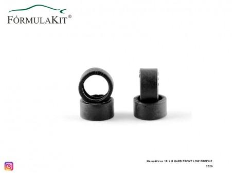 Neumáticos 18 X 8 HARD FRONT LOW PROFILE