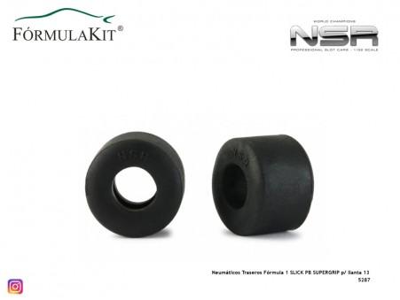 Neumáticos Traseros Fórmula 1 SLICK PB SUPERGRIP