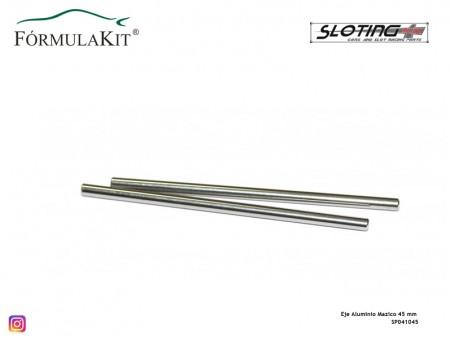 Eje Aluminio Macizo 45 mm