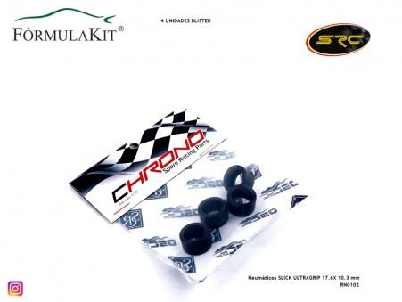 Neumáticos SLICK ULTRAGRIP 17.6X 10.3 mm