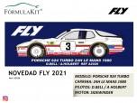 Porsche 924 Turbo Nº3 24h Le Mans 1980