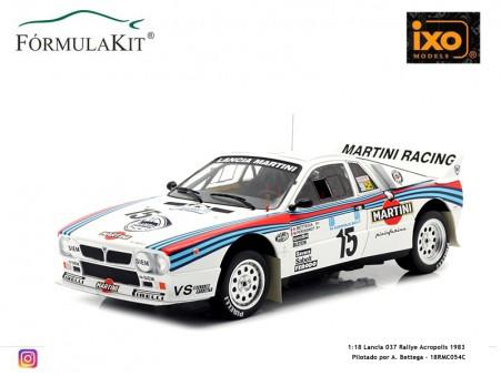 1:18 Lancia 037 Rallye Acropolis 1983