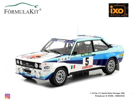 1:18 Fiat 131 Abarth Rallye Portugal 1980