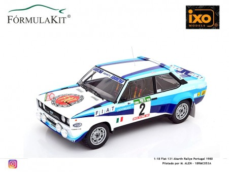 1:18 Fiat 131 Abarth Rallye Portugal 1980 Alen