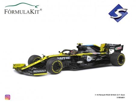 1:18 Renault RS20 British G.P. Ocon