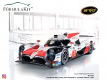Toyota LMP1 TS050 Hybrid Le Mans Winner 2018 Alonso