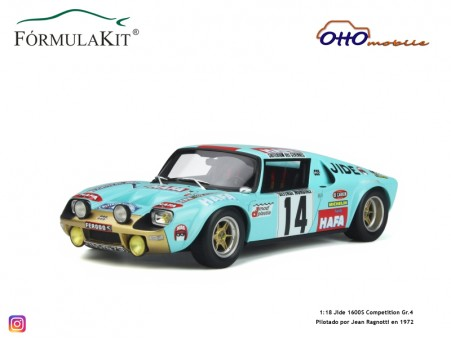 1:18 Jide 1600S Competition Gr.4 1972