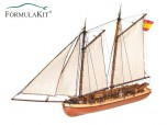 Barco Príncipe De Asturias Lancha Comandante