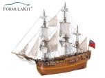 Barco Endeavour Nuevo Velas Cosidas