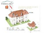 Casa Francesa Auvergne 19x15x14 Cm