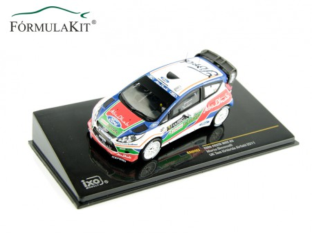 1:43 Ford Fiesta WRC Simoncelli Nº3
